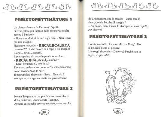 Le più belle barzellette dei Preistotopi. Ediz. illustrata - Geronimo Stilton - 2