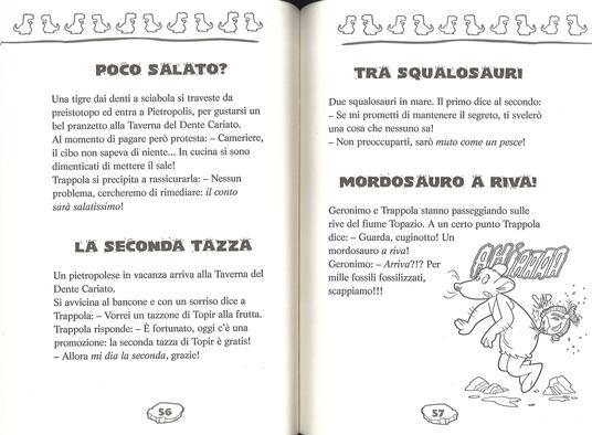 Le più belle barzellette dei Preistotopi. Ediz. illustrata - Geronimo Stilton - 3