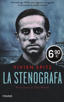 La stenografa - Viven Spitz - copertina