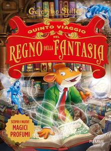 Quinto viaggio nel Regno della Fantasia - Geronimo Stilton - copertina