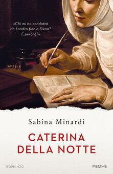 Caterina della notte - Sabina Minardi - copertina