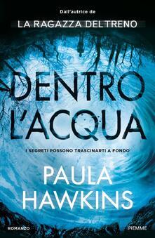 Dentro l'acqua - Paula Hawkins - copertina