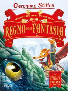 Undicesimo viaggio nel Regno della Fantasia. Ediz. a colori - Geronimo Stilton - copertina