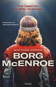 Borg McEnroe - Matthew Cronin - copertina