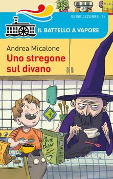Uno stregone sul divano - Andrea Micalone - copertina