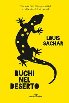 Buchi nel deserto - Louis Sachar - copertina