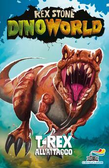 T-Rex all'attacco - Rex Stone - copertina