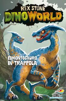 Edmontosauro in trappola - Rex Stone - copertina