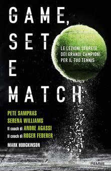 Game, set e match - Mark Hodgkinson - copertina