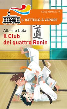 Il Club dei quattro Ronin - Alberto Cola - copertina