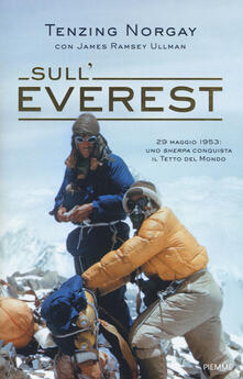 Sull'Everest - J. Tenzing Norgay,James Ramsey Ullman - copertina