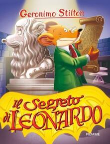 Il segreto di Leonardo - Geronimo Stilton - copertina