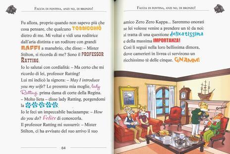 Le più belle storie in giro per il mondo: Appuntamento... col mistero!-Il mistero del rubino d'Oriente-Un topo in Africa - Geronimo Stilton - 2