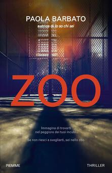 Zoo - Paola Barbato - copertina