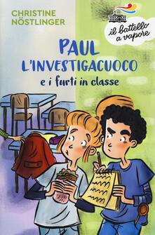 Ascotcamogli.it Paul l'investigacuoco e i furti in classe Image