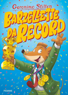 Barzellette da record - Geronimo Stilton - copertina
