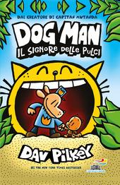 Copertina  Dog man il signore delle pulci