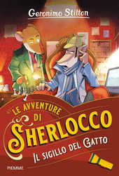 Copertina  Le avventure di Sherlocco : Il sigillo del Gatto