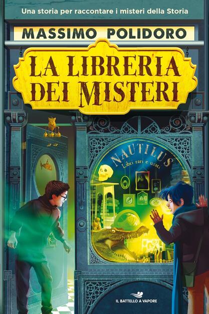 La libreria dei misteri - Massimo Polidoro - Libro - Piemme - Il battello a  vapore. One shot | IBS