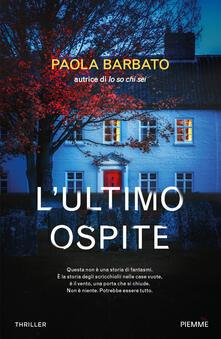 L' ultimo ospite - Paola Barbato - copertina