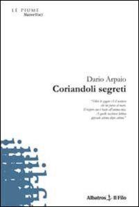 Libro Coriandoli segreti Dario Arpaio