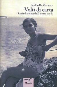Volti di carta - Raffaella Verdesca - copertina