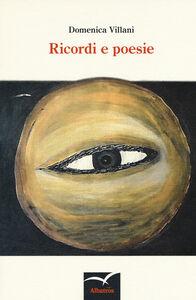 Libro Ricordi e poesie Domenica Villani