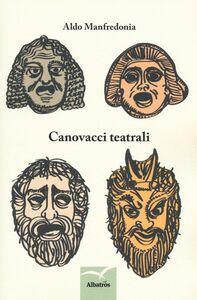 Libro Canovacci teatrali Aldo Manfredonia