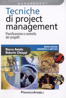 Tecniche di Project Management. Pianificazione e controllo dei progetti.pdf