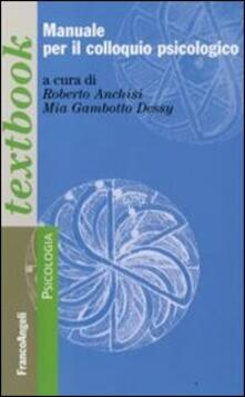 Fondazionesergioperlamusica.it Manuale per il colloquio psicologico Image