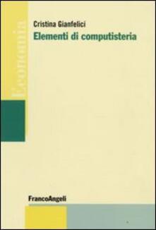 Elementi di computisteria - Cristina Gianfelici - copertina