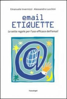 Vitalitart.it Email etiquette. Le sette regole per l'uso efficace dell'email Image
