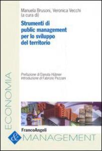 Libro Strumenti di public management per lo sviluppo del territorio