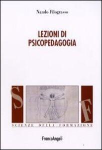 Libro Lezioni di psicopedagogia Nando Filograsso