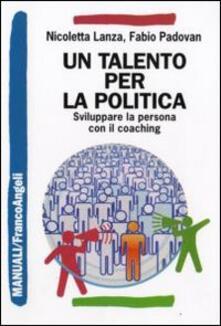Amatigota.it Un talento per la politica. Sviluppare la persona con il coaching Image