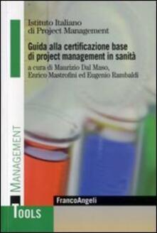 Daddyswing.es Guida alla certificazione base di project management in sanità Image