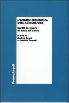 Antondemarirreguera.es L' analisi economica dell'agricoltura. Scritti in onore di Enzo di Cocco Image