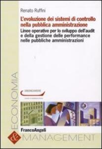 L' evoluzione dei sistemi di controllo nella pubblica amministrazione