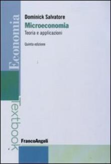 Microeconomia: teoria e applicazioni.pdf