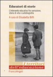 Vitalitart.it Educatori di storie. L'intervento educativo fra narrazione, storia di vita e autobiografia Image