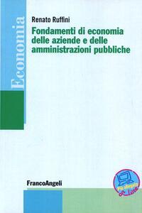 Fondamenti di economia delle aziende e delle amministrazioni pubbliche