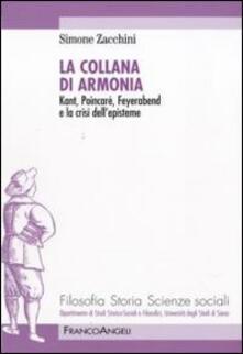 Antondemarirreguera.es La collana di armonia. Kant, Poincaré, Feyerabend e la crisi dell'episteme Image