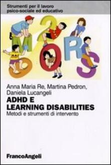 Secchiarapita.it Adhd e learning disabilities. Metodi e strumenti di intervento Image