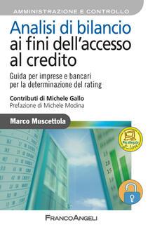 Letterarioprimopiano.it Analisi di bilancio ai fini dell'accesso al credito. Guida per imprese e bancari per la determinazione del rating. Con aggiornamento online Image