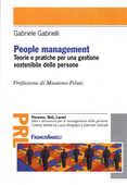 Libro People management. Teorie e pratiche per una gestione sostenibile delle persone Gabriele Gabrielli