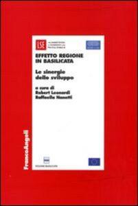 Libro Effetto Regione in Basilicata. Le sinergie dello sviluppo