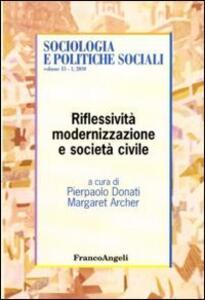 Riflessità, modernizzazione e società civile