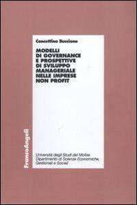 Modelli di governance e prospettive di sviluppo manageriale nelle imprese non profit