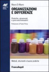 Organizzazioni e differenze. Pratiche, strumenti e percorsi formativi