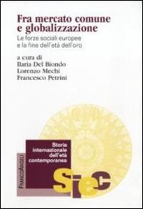 Fra mercato comune e globalizzazione. Le forze sociali europee e la fine dell'età dell'oro